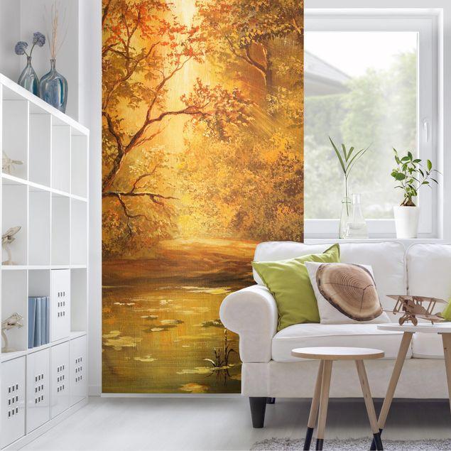 Raumteiler - No.537 Herbstgemälde 250x120cm