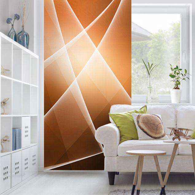 Raumteiler - Orange Sound 250x120cm