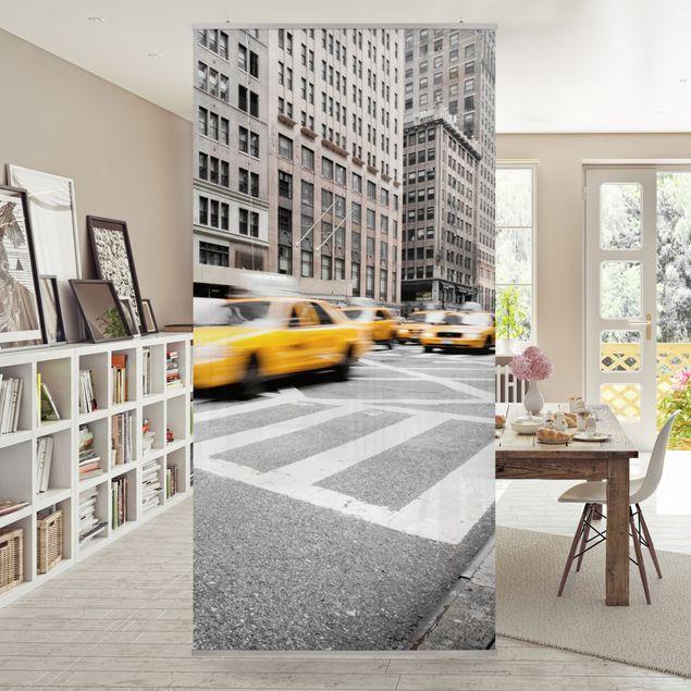 Raumteiler - Rasantes New York 250x120cm