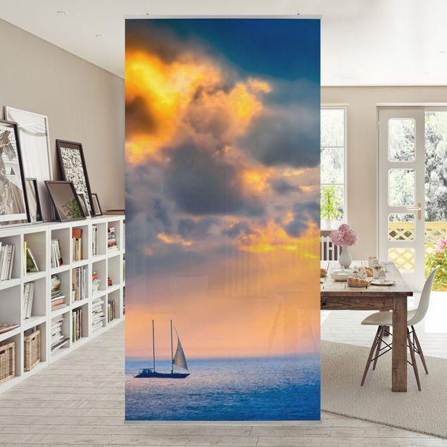 Raumteiler - Sailing the Horizon 250x120cm
