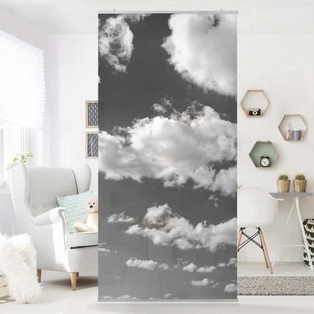 Raumteiler - Wolkenhimmel II 250x120cm