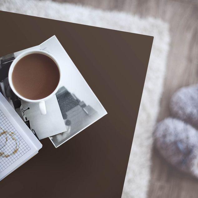 Klebefolie braun einfarbig - Cacao - Folie selbstklebend dunkelbraun