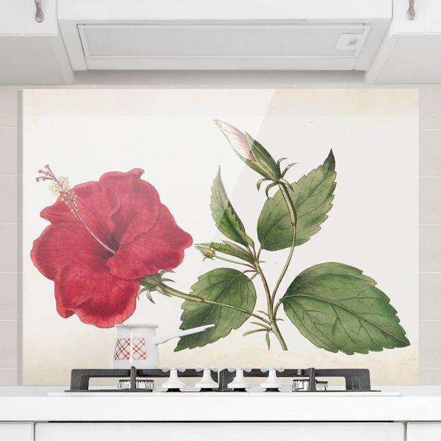 Spritzschutz Glas - Gartenschönheit III - Querformat 3:4