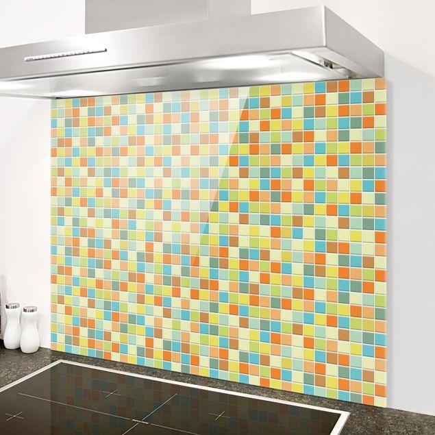 Spritzschutz Glas - Mosaikfliesen Sommerset - Querformat 4:3