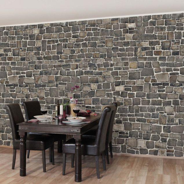steintapete bruchsteintapete natursteinwand vliestapete premium breit. Black Bedroom Furniture Sets. Home Design Ideas