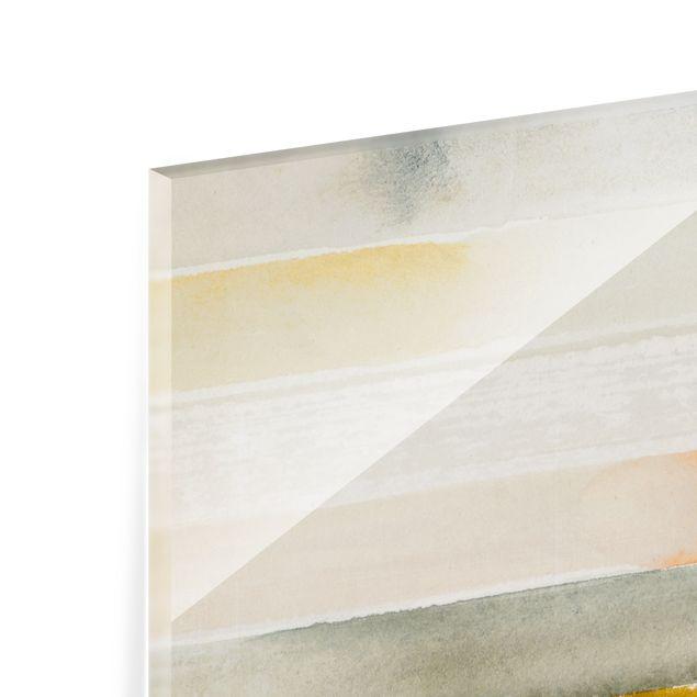 Spritzschutz Glas - Traumgrenzen - Quadrat 1:1