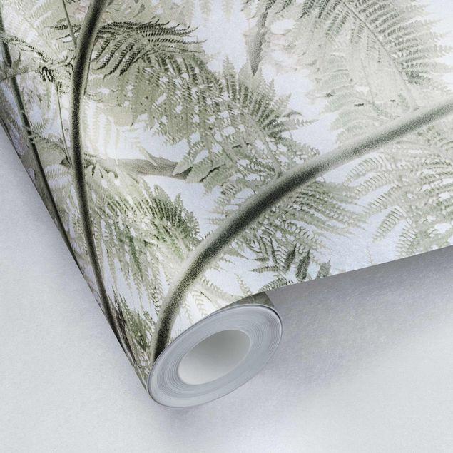 Metallic Tapete - Unterm Farn