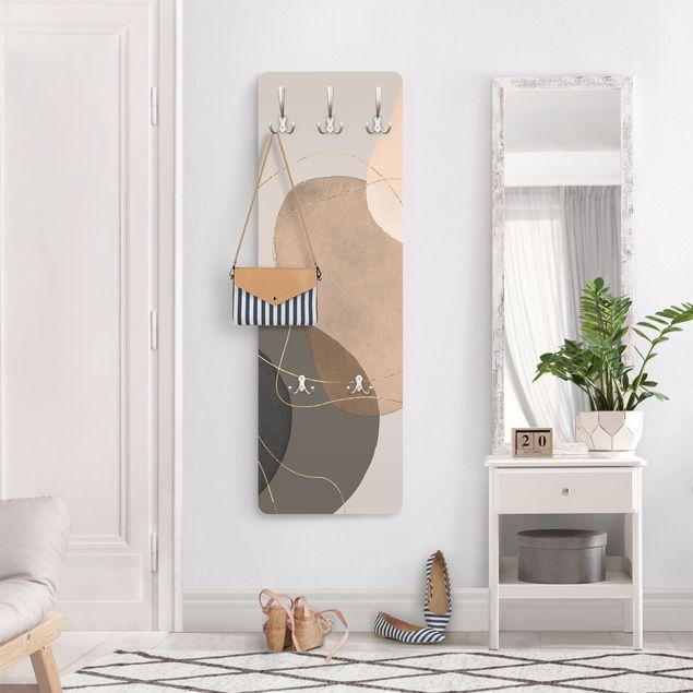 Garderobe - Verspielte Impressionen in Beige