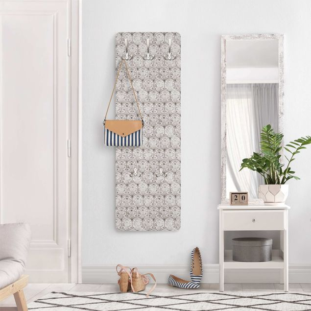 Garderobe - Vintage Muster Orientalische Bögen