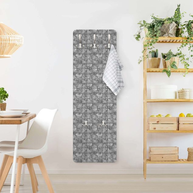 Garderobe - Vintage Muster Spanische Fliesen
