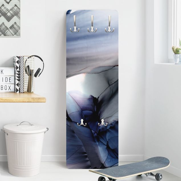 Garderobe - Violett im Fluss