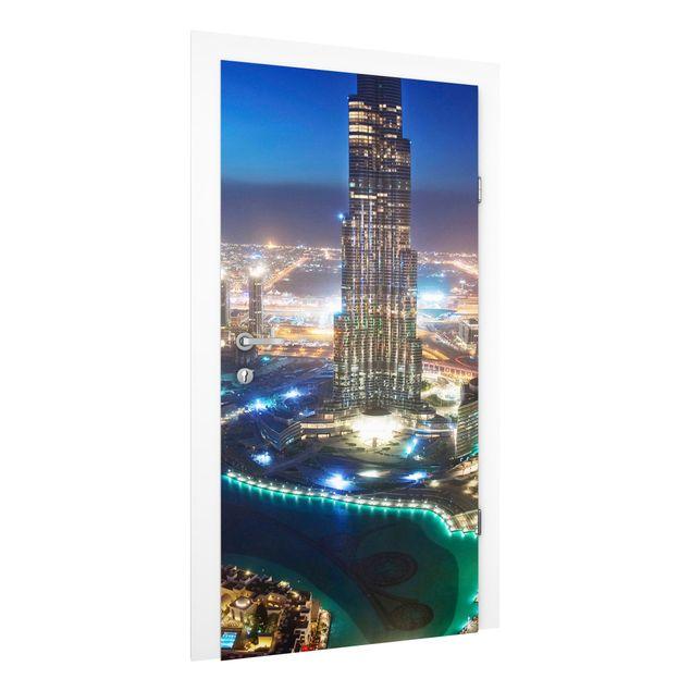 Türtapete - Dubai Marina