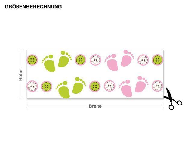 Wandsticker Baby Bordüre