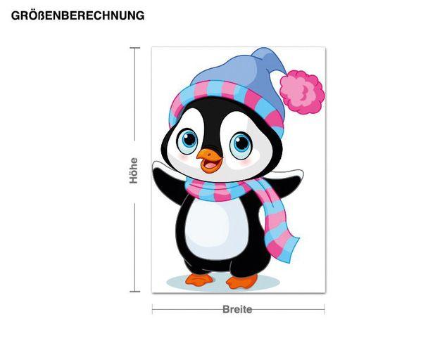 Wandsticker Baby Pinguine