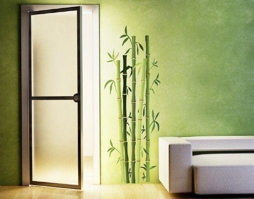 Wandsticker Bambusstrauch