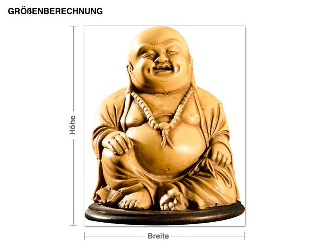 Wandsticker Buddha