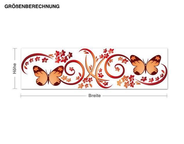 Wandsticker Butterfly