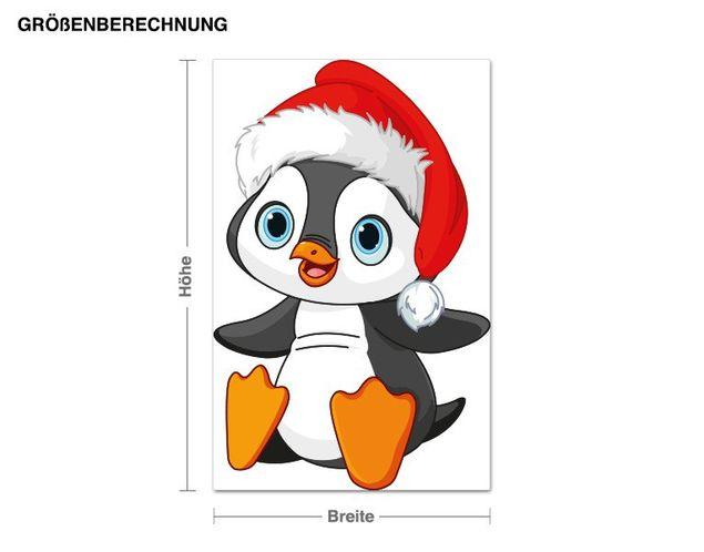 Wandsticker Kleiner Pinguin
