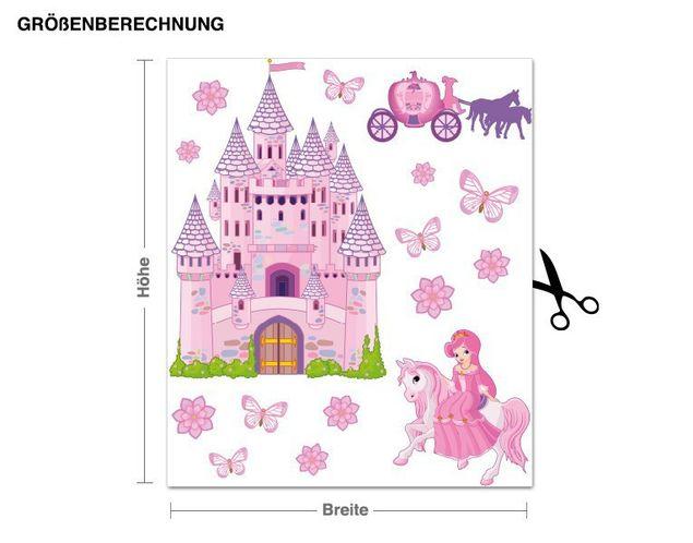 Wandsticker Prinzessinnen Set