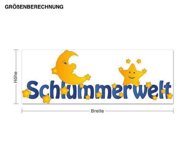 Wandsticker Schlummerwelt