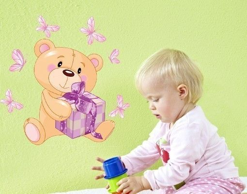 Wandsticker Teddy