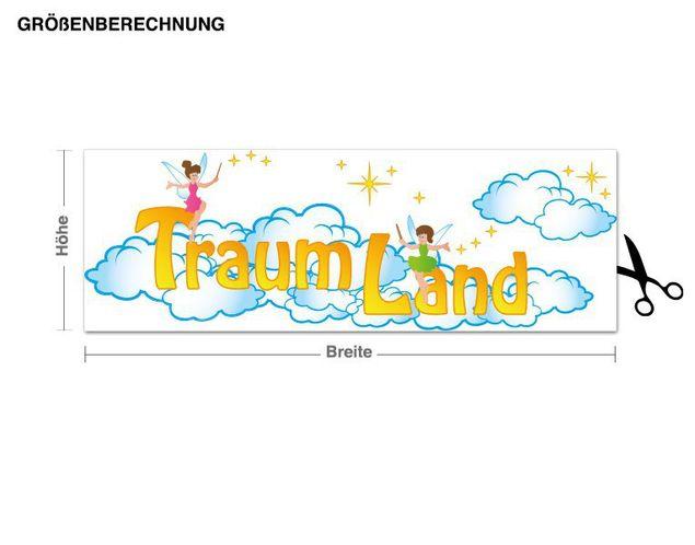Wandsticker Traumland