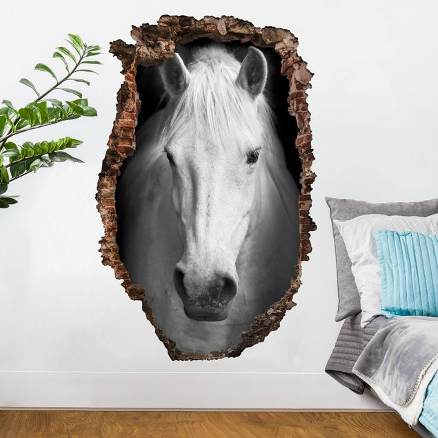 3D Wandtattoo - Dream of a Horse - Hoch 3:2