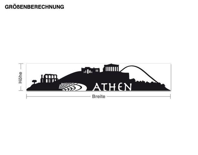 Wandtattoo Athen