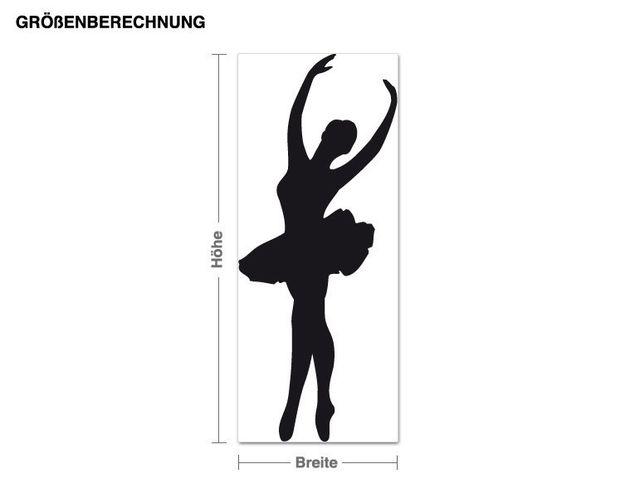 Wandtattoo Ballett