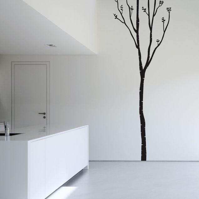 Wandtattoo Baum - Wandtattoo Birke - Wandsticker Birke in 19 Farben