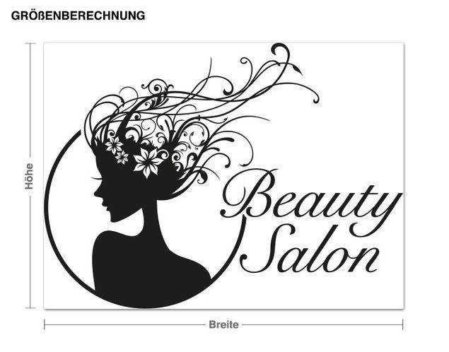 Wandtattoo Beauty Salon