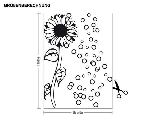 Wandtattoo Blubberblümchen
