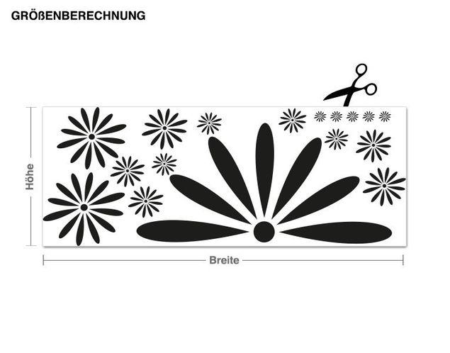 Wandtattoo Blütenpracht