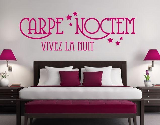 Wandtattoo Carpe Noctem