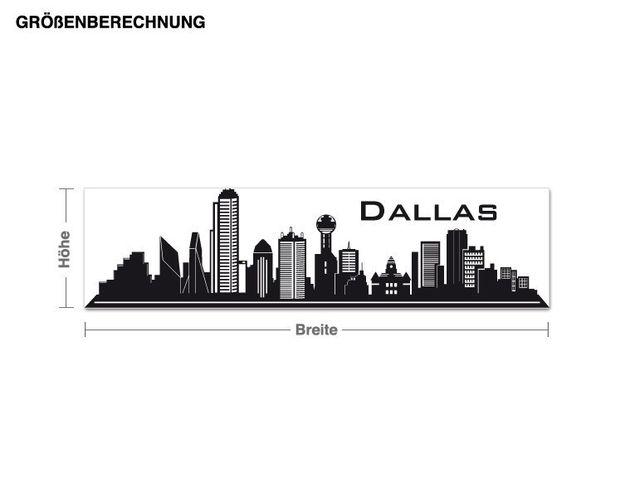 Wandtattoo Dallas