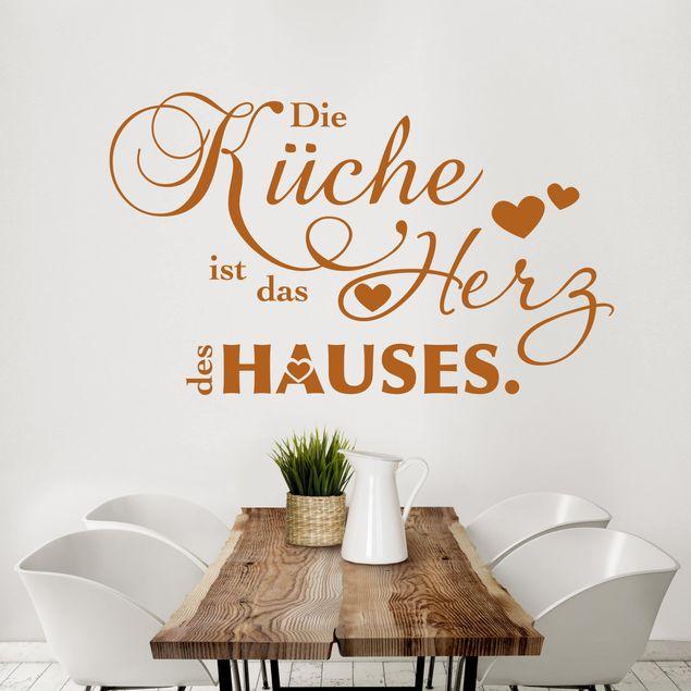 Wandtattoo Sprüche - Die Küche