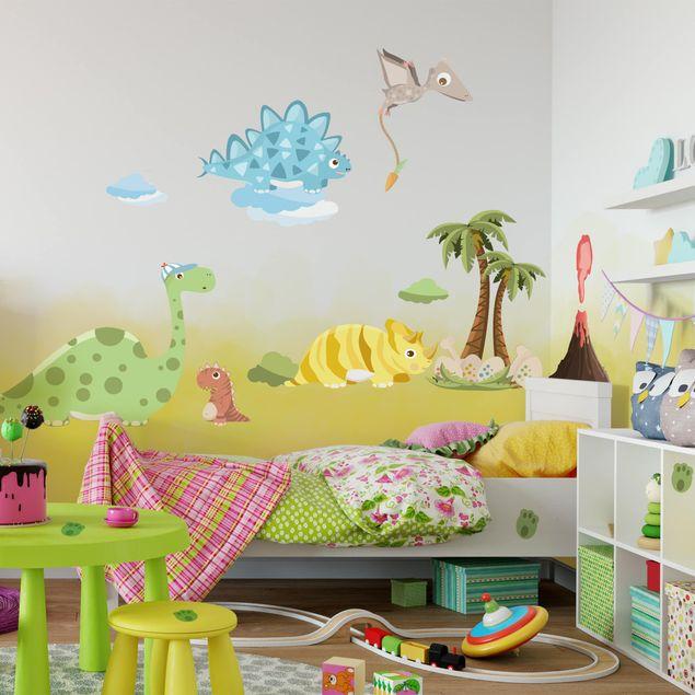 Wandtattoo - Dinosaurier Set