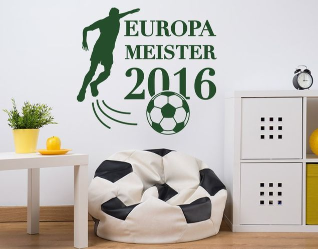 Wandtattoo Europameister 2016