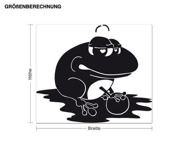 Wandtattoo Froschkönig