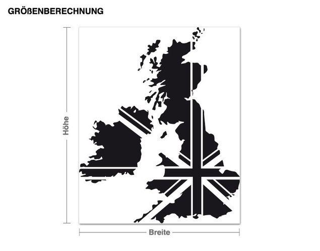 Wandtattoo Großbritannien
