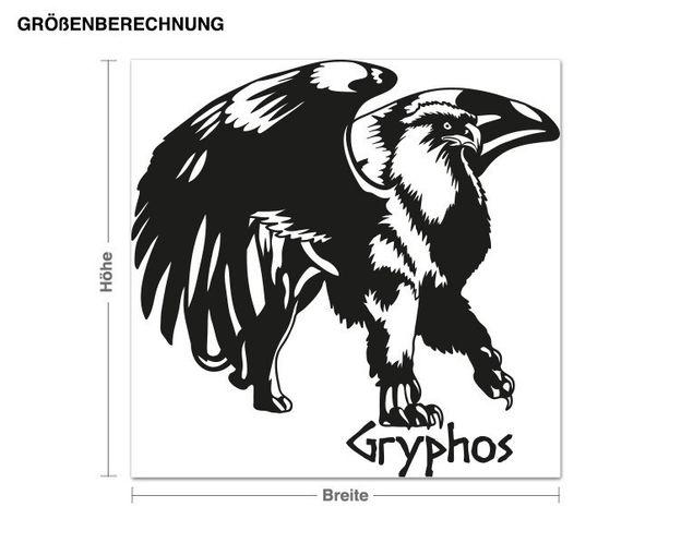 Wandtattoo Gryphos
