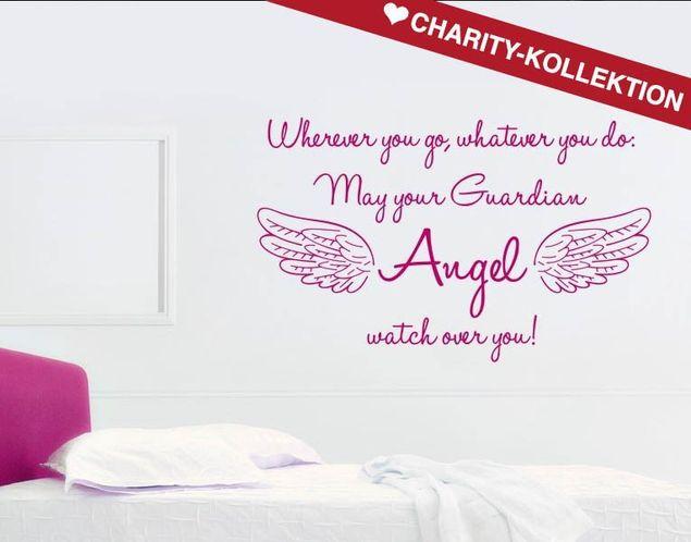 Wandtattoo Guardian Angel