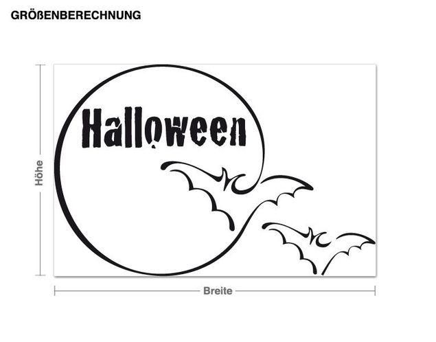 Wandtattoo Halloween