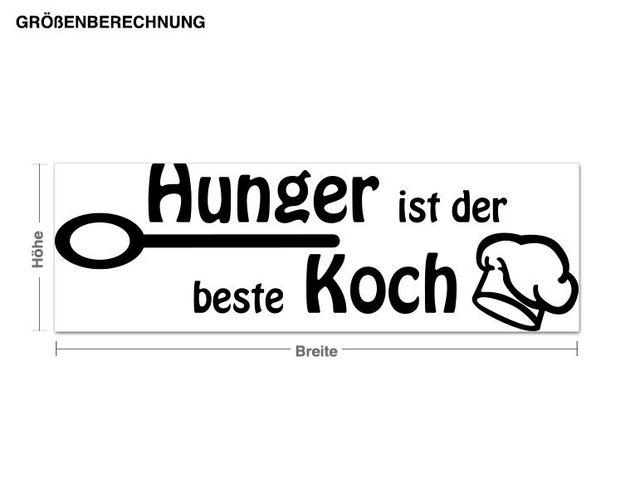 Wandtattoo Hunger
