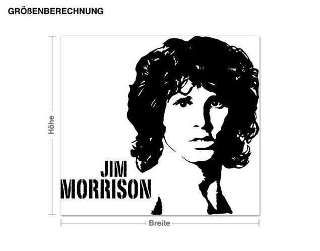 Wandtattoo Jim Morrison