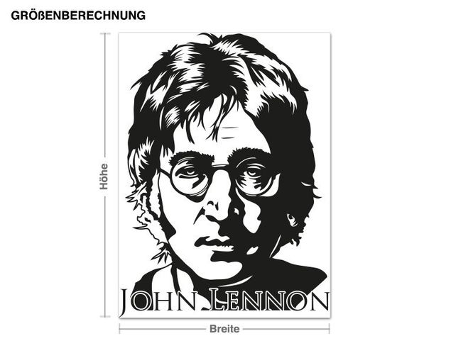 Wandtattoo John Lennon