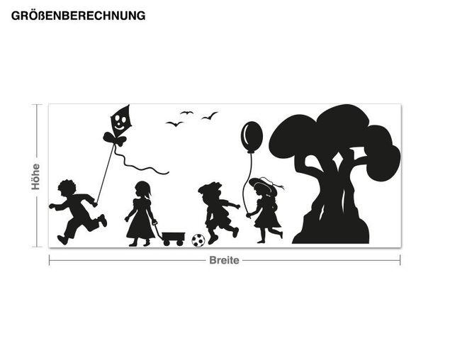 Wandtattoo Kindergarten