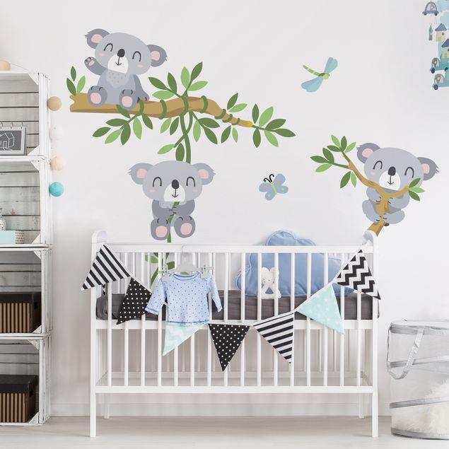 Wandtattoo Koala Set Bilderwelten De