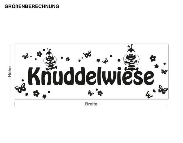 Wandtattoo Knuddelwiese