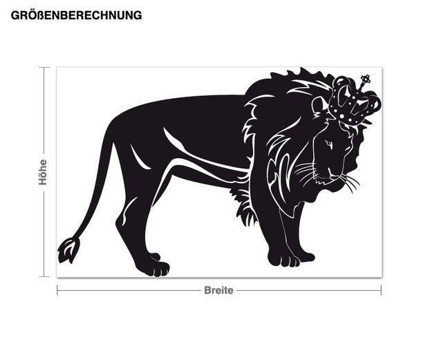 Wandtattoo König der Löwen